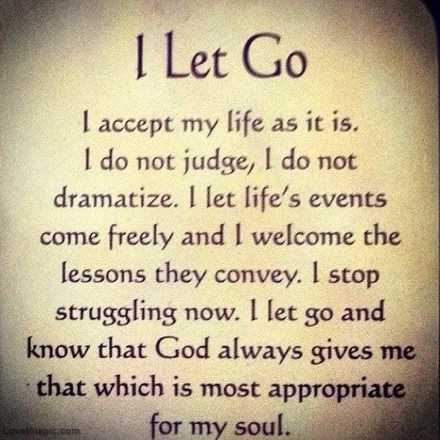 Poem Letting Go Bodyandsoulnourishmentblog