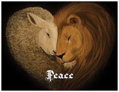 20-christmas-lion-lamb-peace-love-joy-greeting-flat-cards-envelopes-seals-043acdfc56cbe5eae8de18a290c70463
