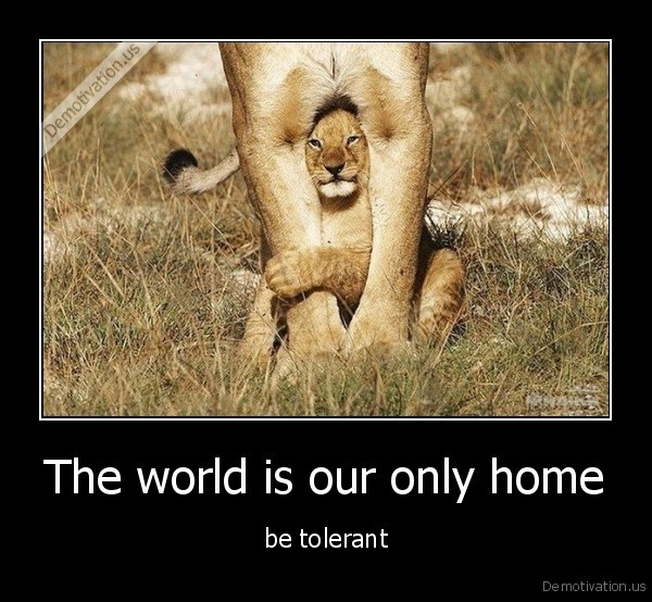 demotivation.us_The-world-is-our-only-home-be-tolerant_137546634084