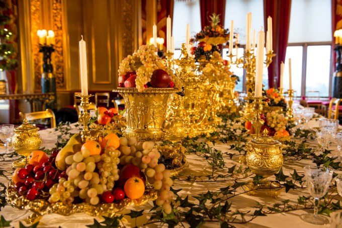 Christmas Decorations 2014 at Windsor Castle.