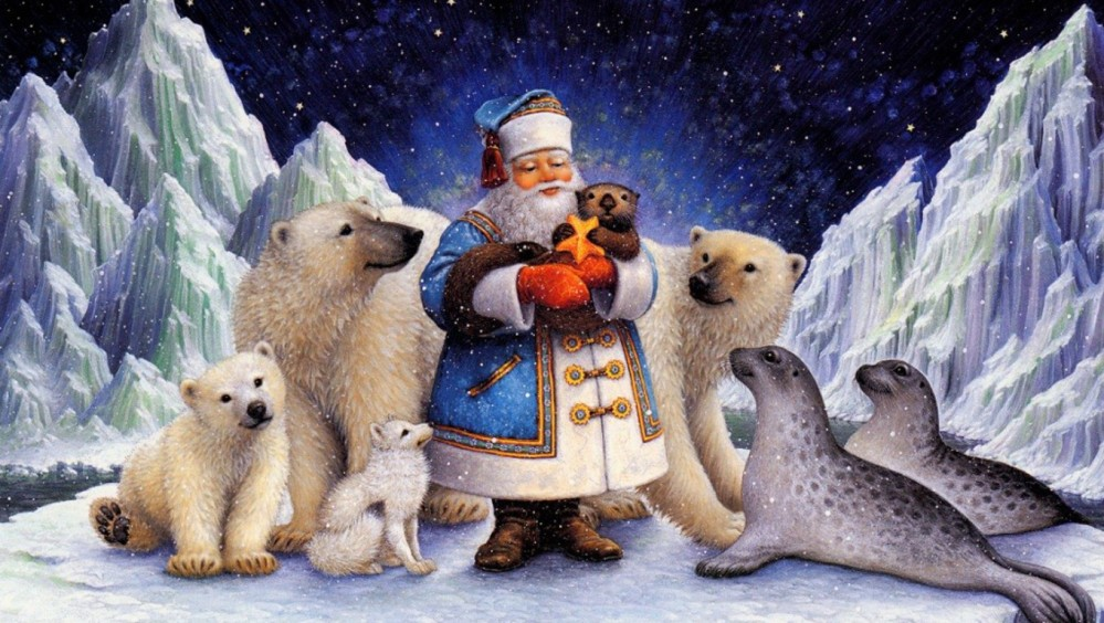 northpole-christmas-wallpapers