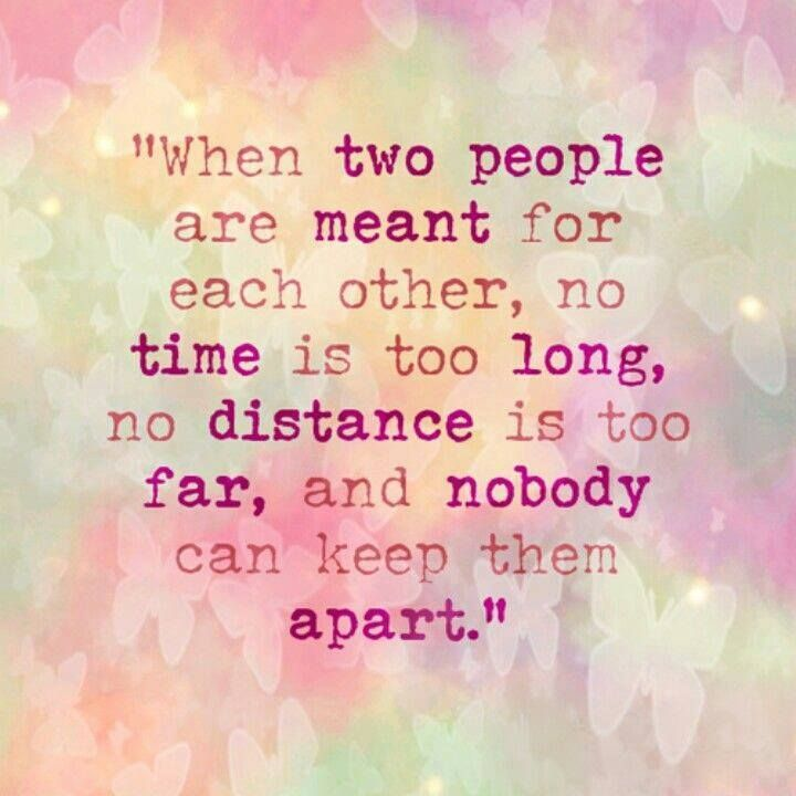 When Two People Are Meant For Each Other Love Quotes Sayings