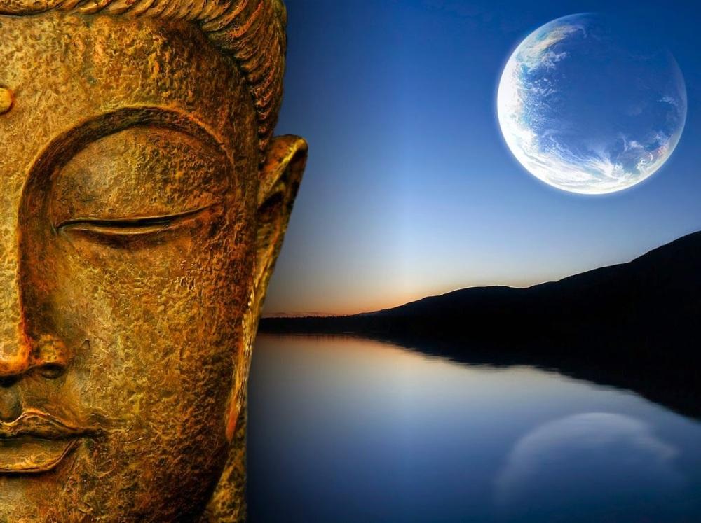 buddha-and-moon