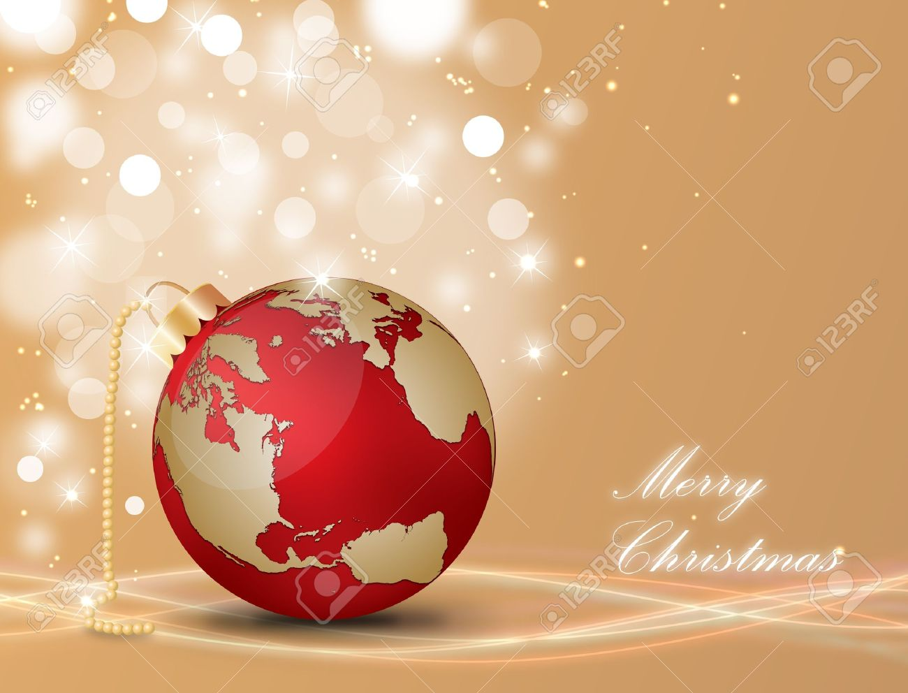 15081104-christmas-ball-with-world-map-on-a-decorated-background-stock-vector