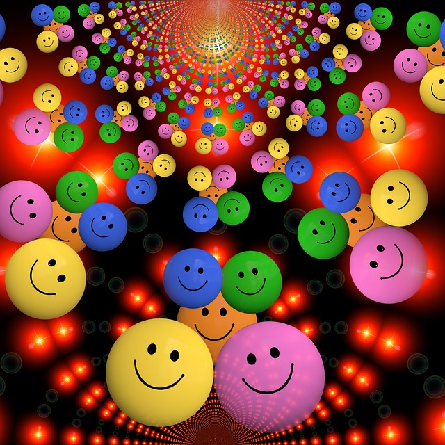 Colorful Laugh Color Cheerful Smiley Funny