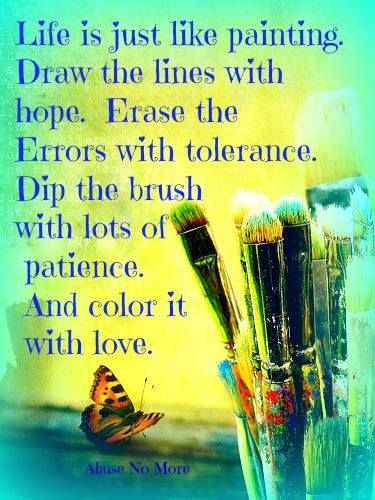 skin painting amp quotes about art creativity amp painting