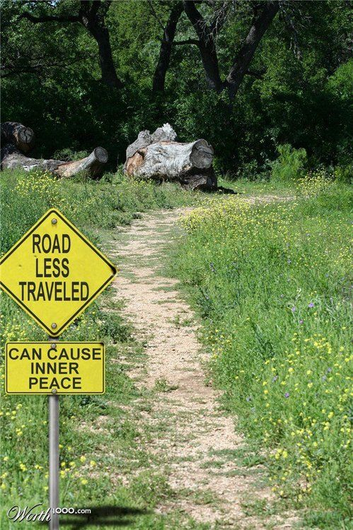 """POEMS: """"The never wavering few"""" (the road less traveled ..."""