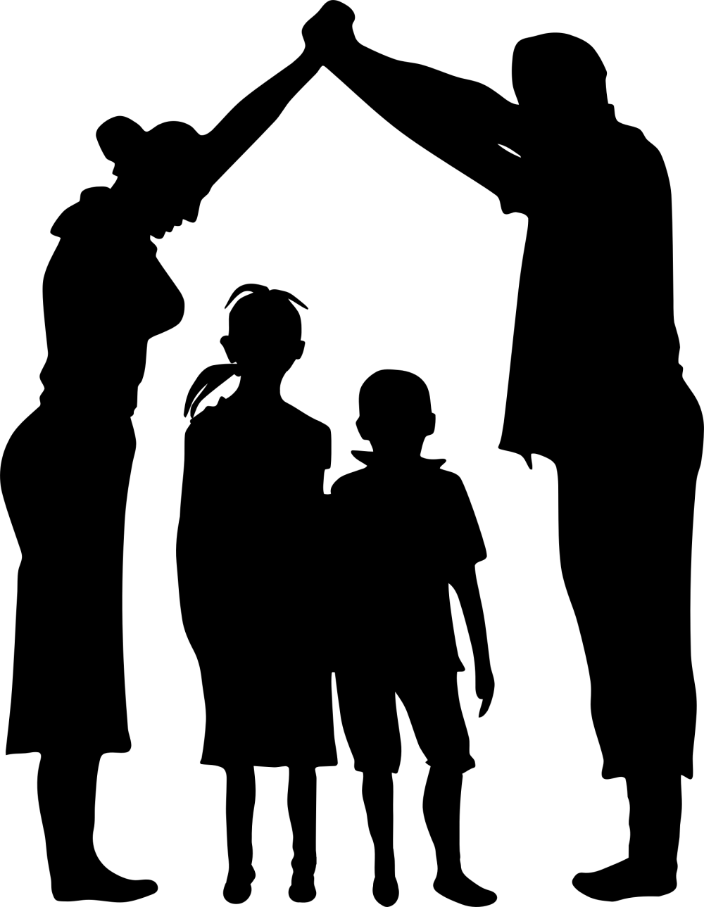 Family-Shelter-Minus-Ground-Silhouette-2400px