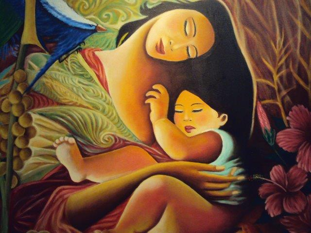 Mother and Child by Beth Bato