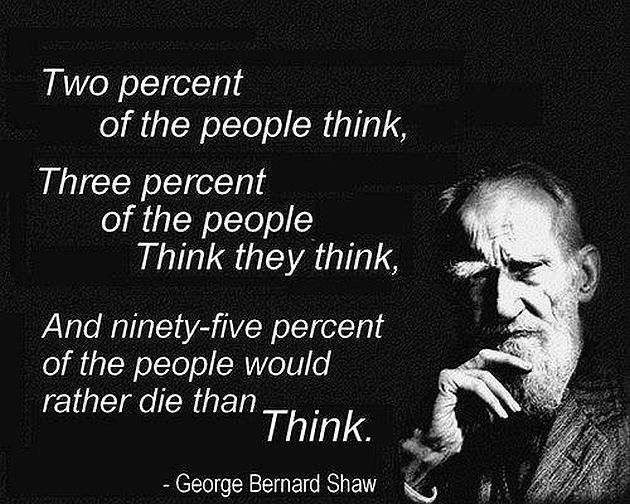 george-bernard-shaw-two-percent-of-the-people-think
