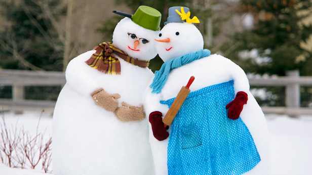 how-to-make-a-snowman-couple