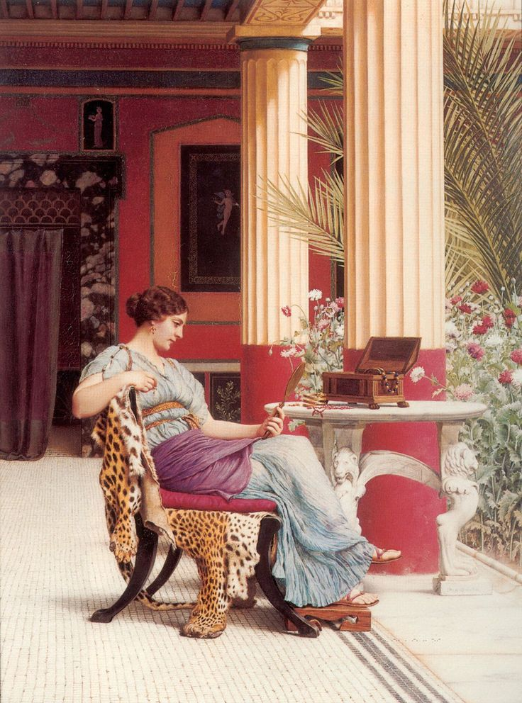 78e5d8a3a7bb35c6d08aa80f8086e2b3--pre-raphaelite-paintings-john-william-godward