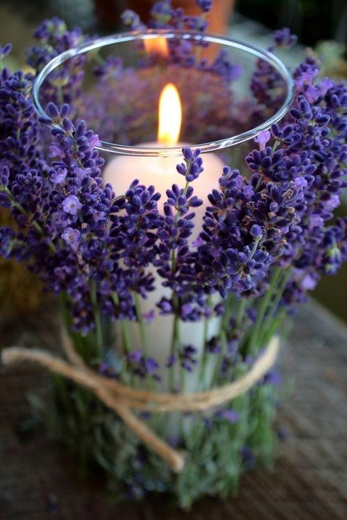 dbd12f306456d488cca15f31b61dfb97--lavender-candles-lavender-centerpieces