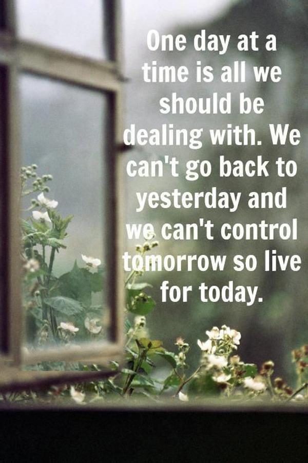 One Day At A Time Bodyandsoulnourishmentblog