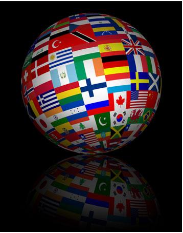 international-flag-globe