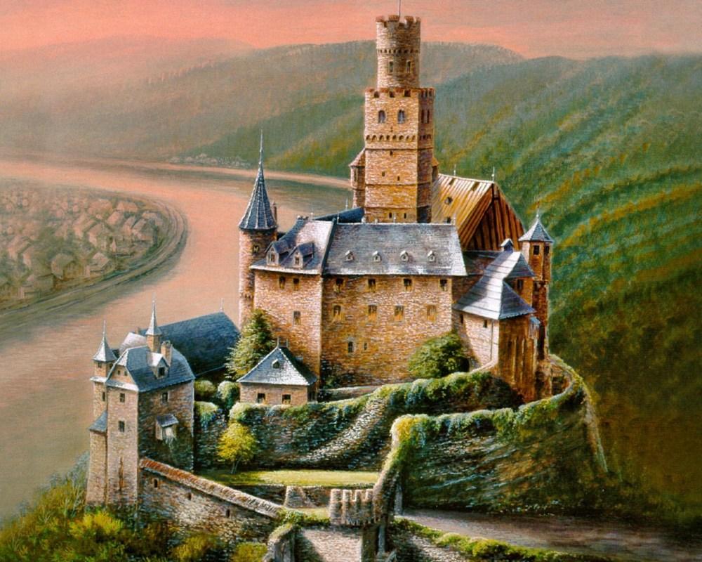 medieval-castle-paintings-7