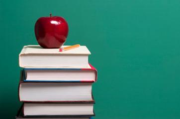 book-apple-school-blackboard-tag