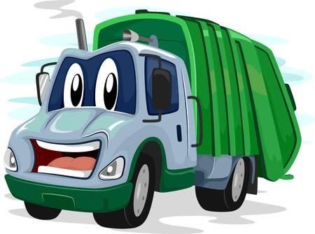 39712350-stock-illustration-mascot-illustration-of-a-garbage-truck-flashing-an-awkward-smile